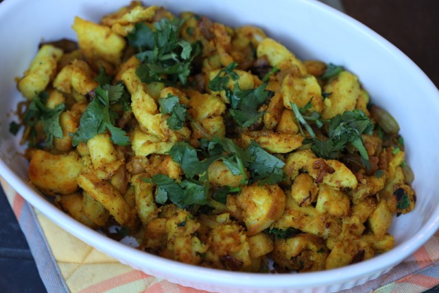 Paavacha Bhuja made from stale bread