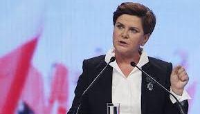 Beata Szydło, forsætisráðherra Póllands,