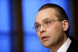 Jussi Niinistö, varnarmálaráðherra Finnlands.