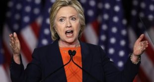 Hillary Clinton gagnrýnir Donald Trump