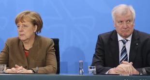 Angela Merkel og Horst Seehofer