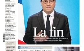 Forsíða Le Figaro föstudaginn 2. desember.