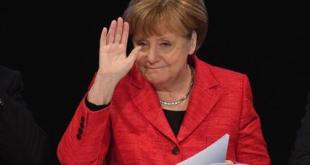 Angela Merkel í Sraslund