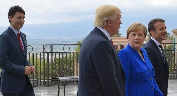 Leiðtogar G7-ríkjanna funda á Sikiley
