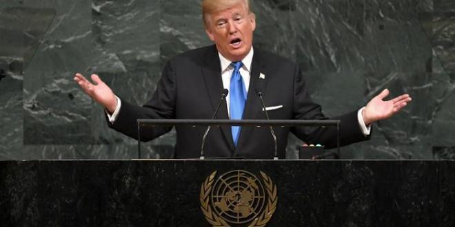 Trump fer mikinn í ræðu á allsherjarþingi Sameinuðu þjóðanna