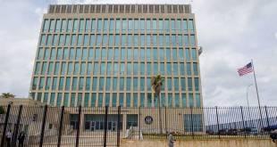Bandaríska sendiráðsbyggingin í Havana.
