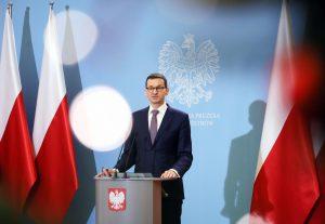 Mateusz Morawiecki, forsætisráðherra Póllands.