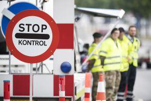 Grænsekontrollen forlænges frem til 12. maj Hjemmeværnet starter grænsekontrol