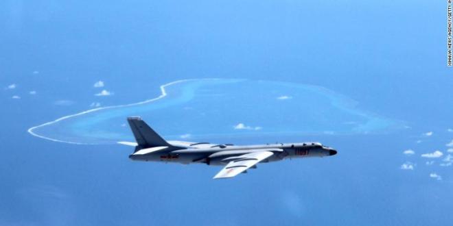 Flugher Kína ögrar Filippseyingum á S-Kínahafi
