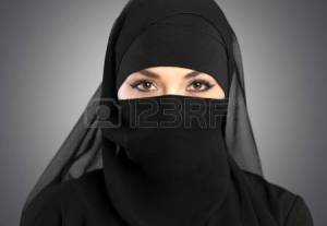 Í niqab