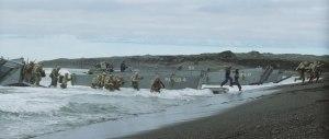 Úr kvikmyndinni ssem Clint Eastwood gerði og tekin var að hluta í Sandvík.