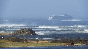 Skemmtiferðaskipið Viking Sky vélarvana á Hustadvika.