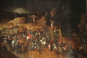 Krossfestingin eftir Brueghel yngri.
