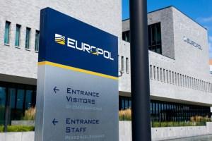 Frá höfuðstöðvum Europol í Haag.