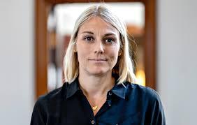 Tine Bramsen varnarmálaráðherra.