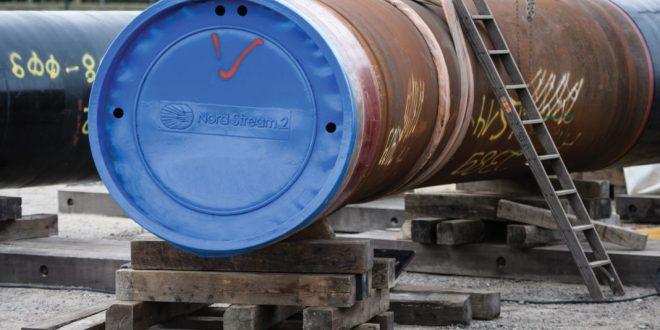 Nord Stream-2 gasleiðslan á lokametrunum