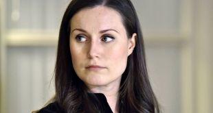 Sanna Marin (34 ára), samgöngu- og fjarskiptamálaráðherra, varaformaður Jafnaðarmannaflokksins.