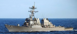 Tundurspillirinn USS Ross