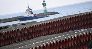 Um 94% af leiðslum Nord Stream 2 hefur verið lagt. Hér er hluti þess sem enn bíður.
