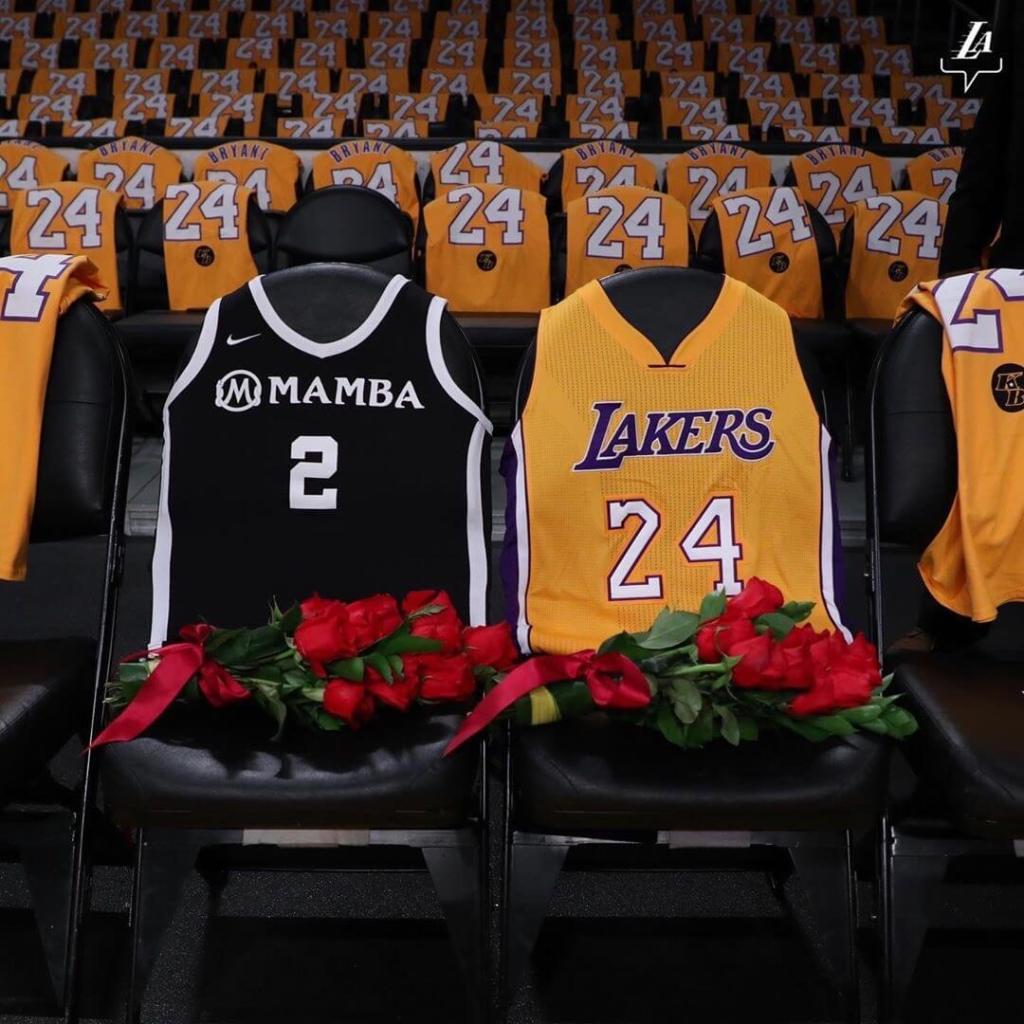 Kobe y Gianna Bryant, homenaje