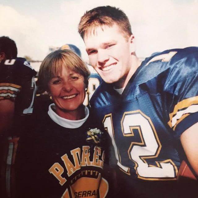 Tom Brady colegial