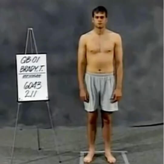 Tom Brady joven