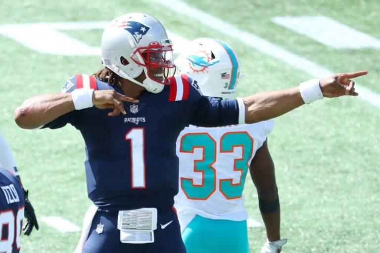 Cam Newton Patriots 2020