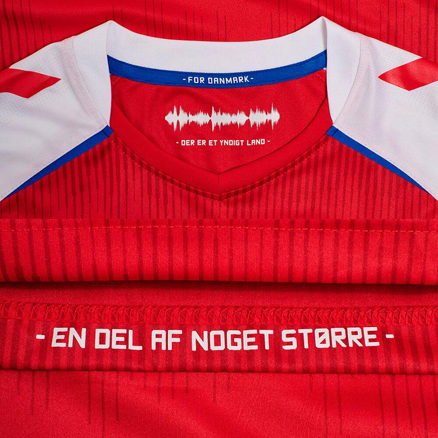 Dinamarca camisetas 2021