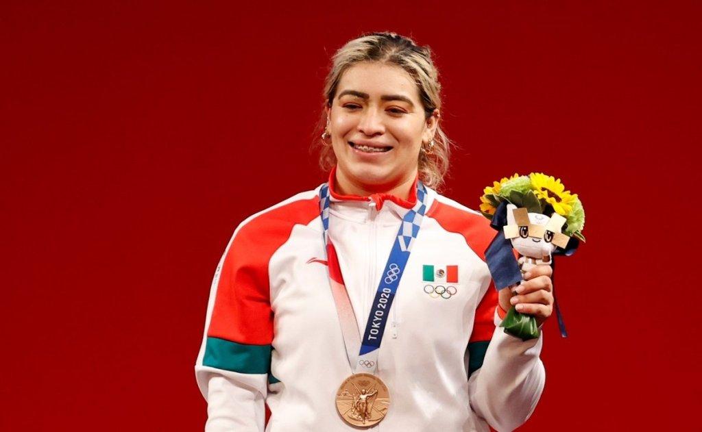Aremi Fuentes Tokio 2020 bronce