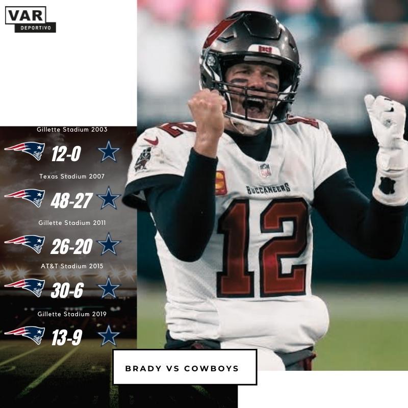 Tom Brady vs Cowboys