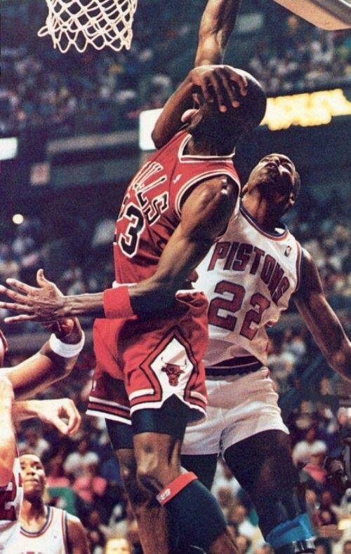 Michael Jordan vs Bad Boys