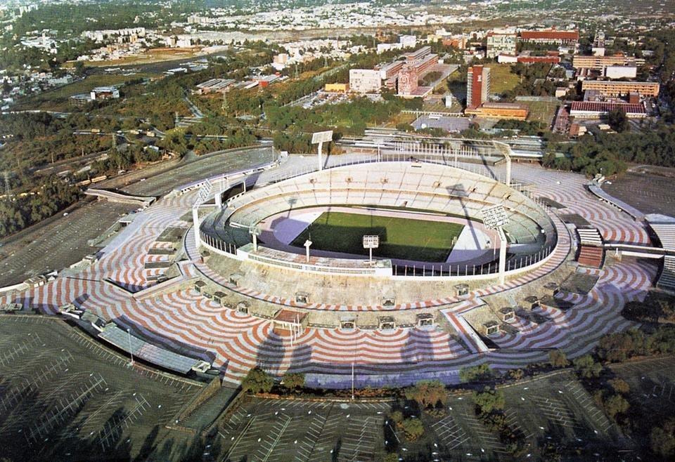 Estadio Olímpico Universitario México 68