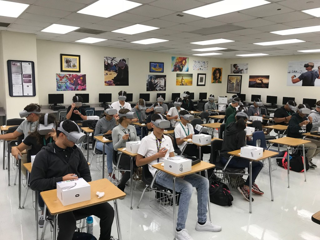 VR students