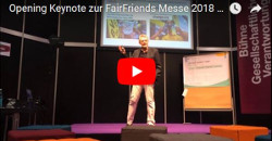 Keynote Andreas Varesi auf Fair Friends 2018