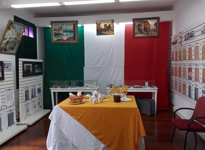 Exposição imigração italiana em Varginha