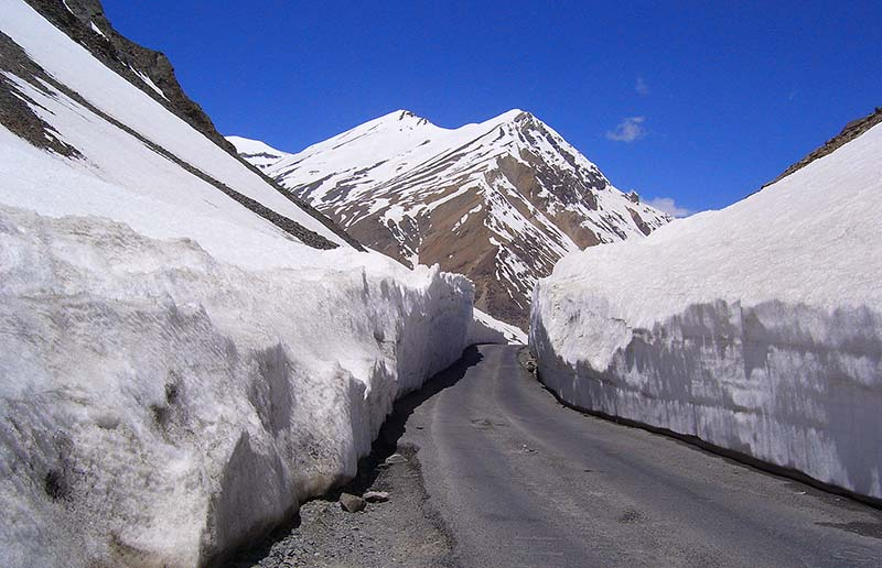 Image result for image of manali leh highway
