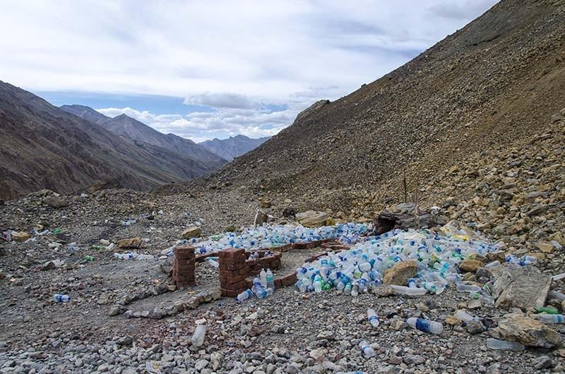 pollution in ladakh