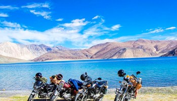 How to Ride to Ladakh on 100CC Motorcycle or Scooter? - Vargis Khan