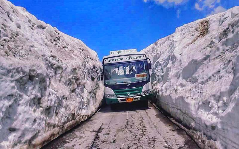 manali to leh bus service frequency fare how to book vargis khan