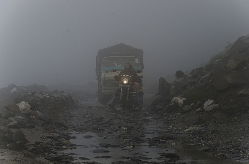 road condition at rohtang pass