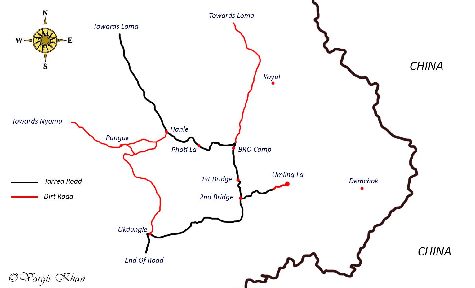 umling la road map