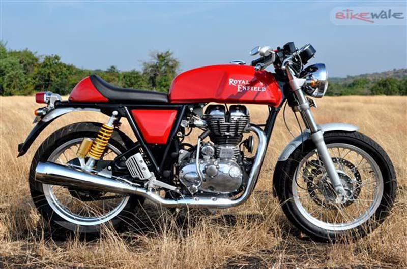 Royal Enfield Continental GT Discontinued in India - Vargis Khan