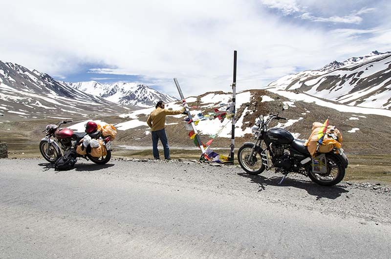 cost of motorcycle trip to ladakh