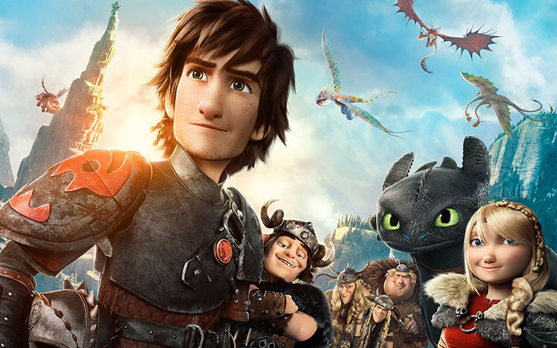 dragons tv series