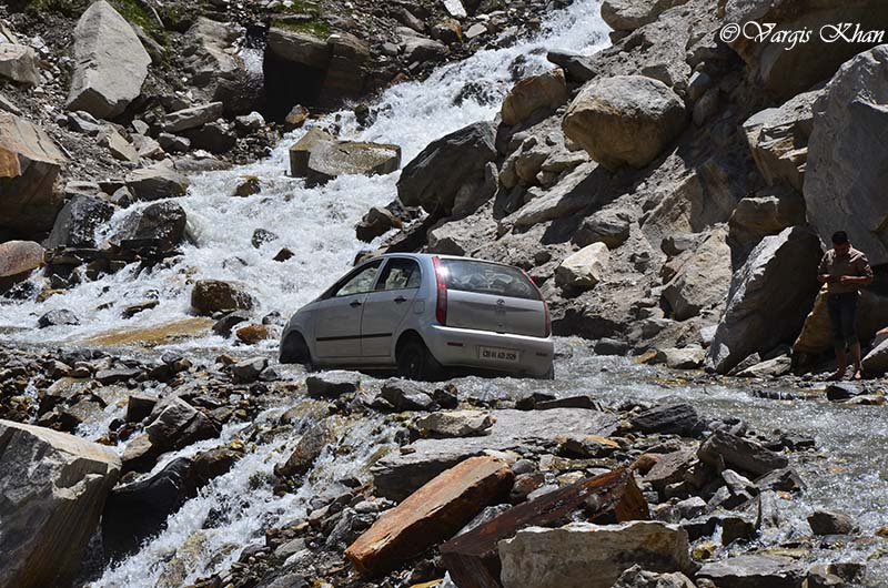 how to reach spiti valley by car