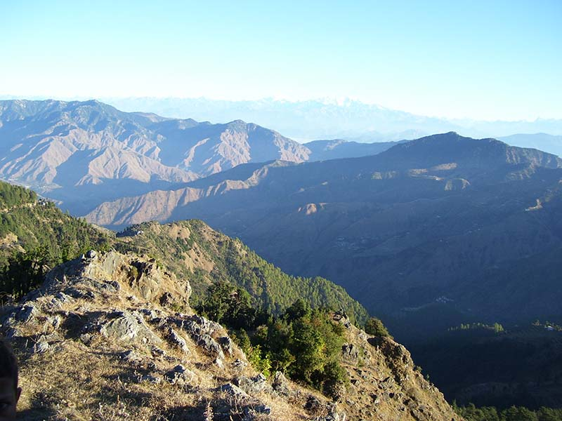 view from pangot