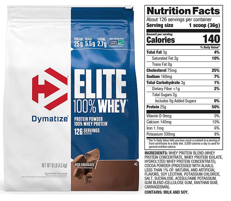 Dymatize Whey Protein Review