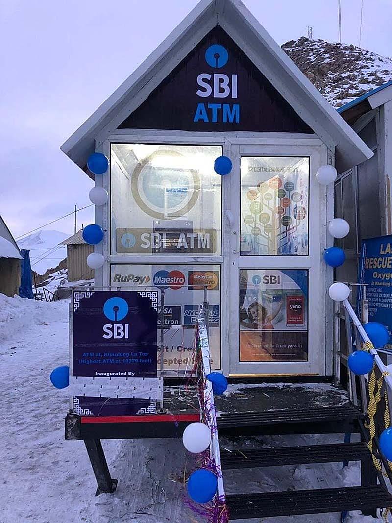ATM in Nubra Valley