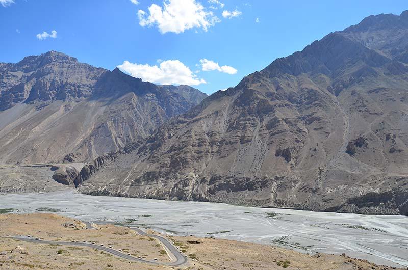 road to dhankar village