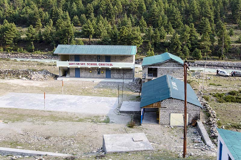school in chitkul